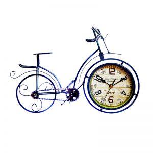 Ceas bicicleta metal vintage Alexander 35x24cm cadran cifre arabe