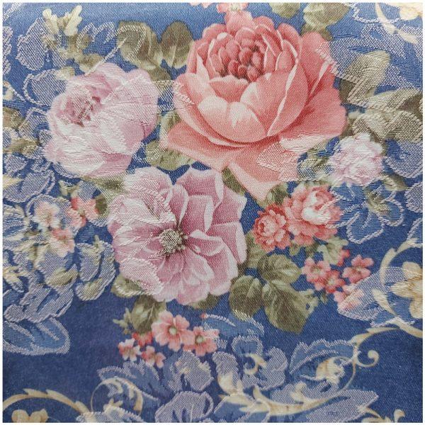 Fata de masa Romantic Blue 130x180cm brocart