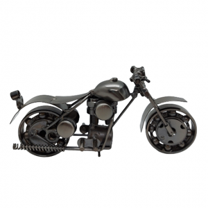 Motocicleta metal Bandidos miniatura 20x7x11cm