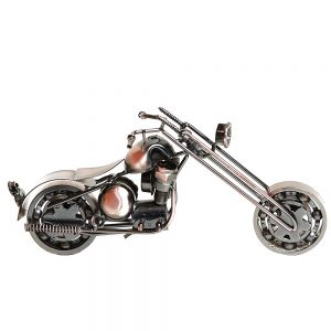 Motocicleta metal Hurricane miniatura 14x3x8cm