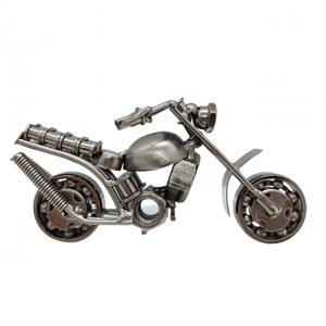 Motocicleta metal Hurricane miniatura 14x5x7cm