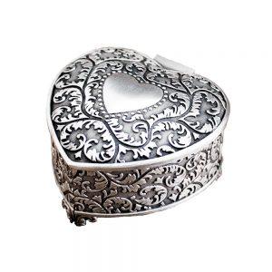 Cutie inima pentru bijuterii Audrey 7.5x8x4.2cm