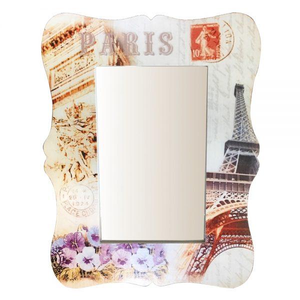 Oglinda perete Tour Eiffel vintage 30x40cm