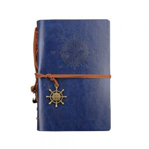 Agenda eleganta business Maurice gri nedatata jurnal vintage 10x14cm