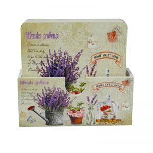 Set 6 suporturi pahare Provence lavanda coastere vintage