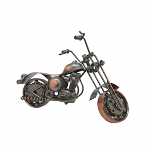 Motocicleta metal Notorius miniatura 22x6x10cm