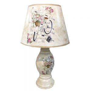 Veioza Berenice ceramica lampa retro 45cm