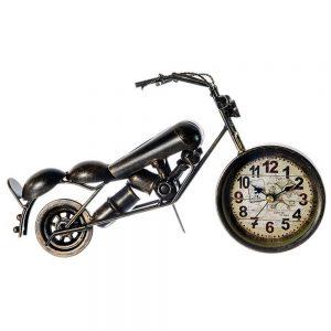 Ceas motocicleta metal Tommy vintage 24x6x17cm cadou aniversare