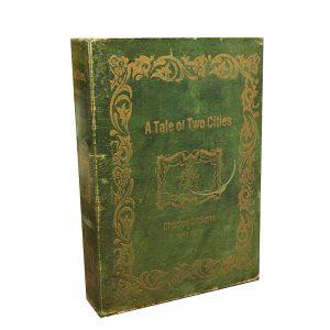 Cutie carte Pauline 25x6x18cm lemn vintage