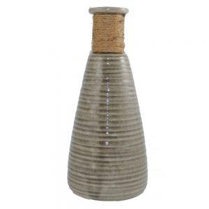 Vaza ceramica gri Philippe 28cm vintage