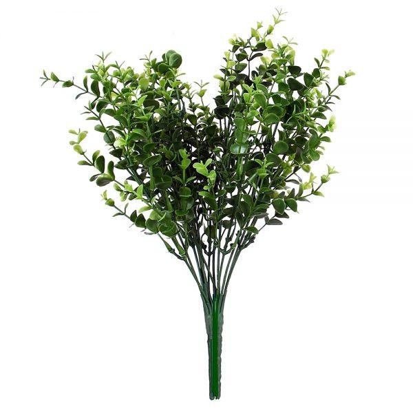 Eucalipt decorativ frunze artificiale buchet verdeata Eucaliptus 30cm
