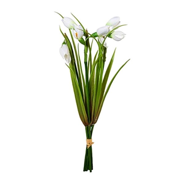 Ghiocei artificiali buchet ghiocei decorativi Spring 30 cm