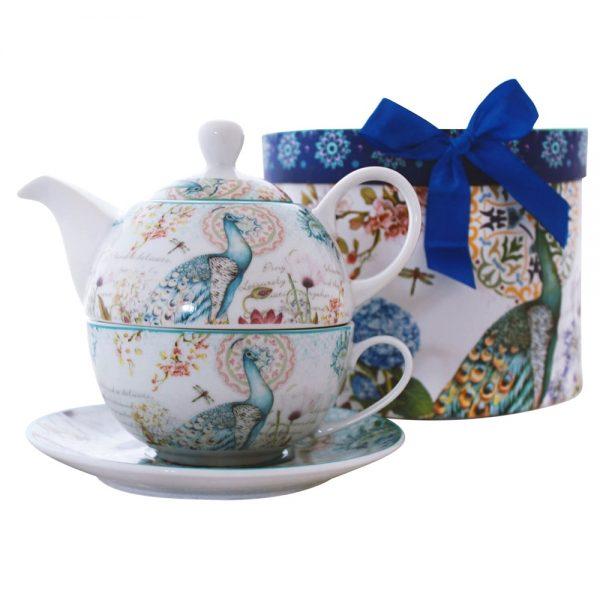 Set ceai Peaky, 3 piese portelan