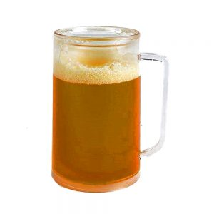 Halba Fake Beer Cold Mug 400ml