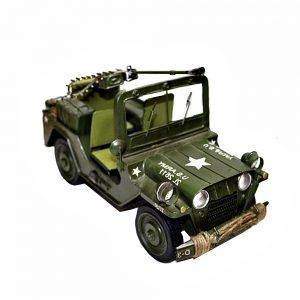 Masina metal US Army kaki macheta vintage