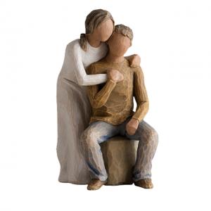 Statueta cuplu indragostiti Kindness 10x17cm