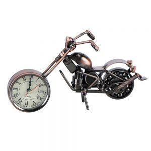 Motocicleta metal Bandidos vintage cu ceas