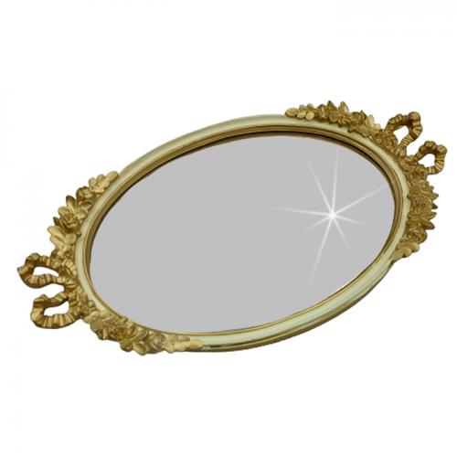 Tava oglinda Memories albauriu antichizat