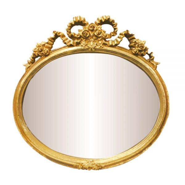 Oglinda vintage auriu antichizat Magic Mirror oglinda eleganta de perete