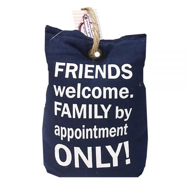 Opritor usa Friends First sac textil