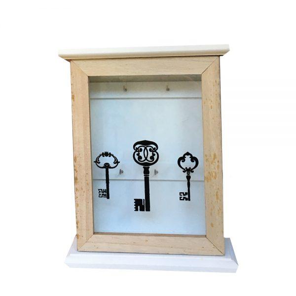 Cutie chei Horace lemn 17x5x25cm