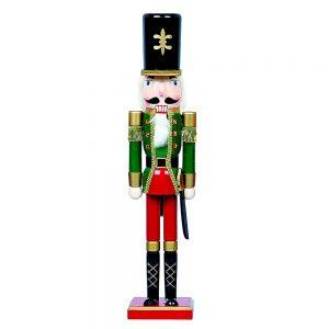 Spargator de nuci Giant Nutcracker 60cm figurina lemn decorativa