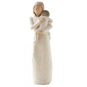 Statueta mama cu copil Loving 22cm