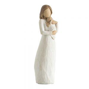 Statueta mama cu copil Caring 22cm