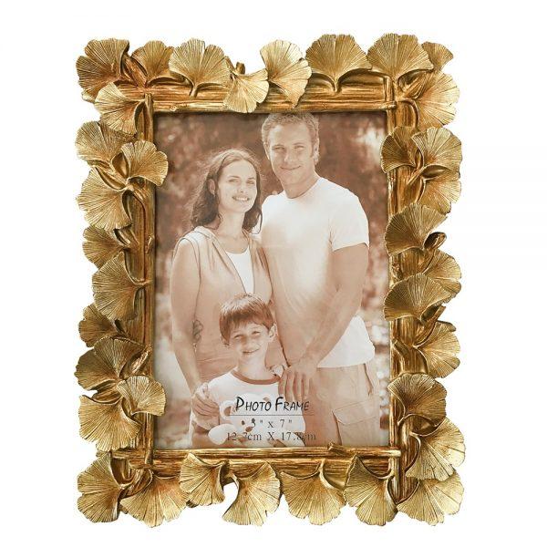Rama foto vintage Grace auriu 13x18cm cadou elegant