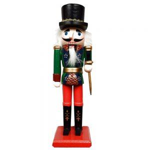 Spargator de nuci Adam Nutcracker 20cm figurina lemn decorativa