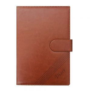 Agenda eleganta business Dylan 15.5x22cm notebook nedatat