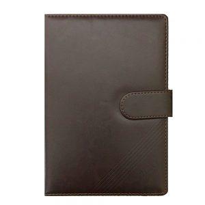 Agenda eleganta business Roger 15.5x22cm notebook nedatat