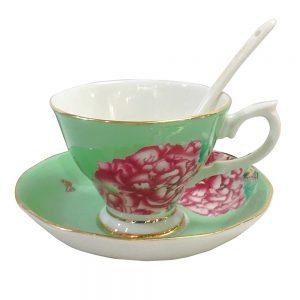 Ceasca de cafea cu farfurie Beatrix