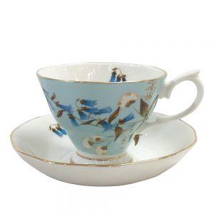 Ceasca de cafea cu farfurie Isabella portelan