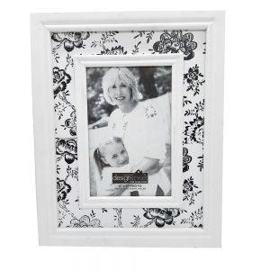 Rama foto 10x15cm Memories alb - negru