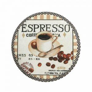 Suport pahare cani Coffee coaster ceramica
