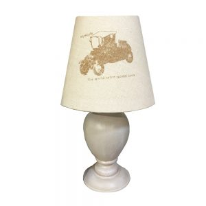 Veioza Edward lemn lampa vintage