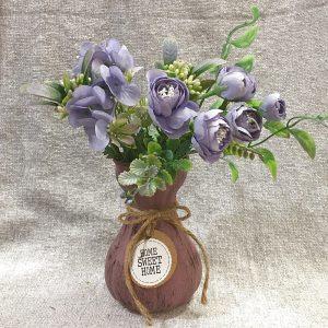 Buchet flori artificiale Pastel 26cm