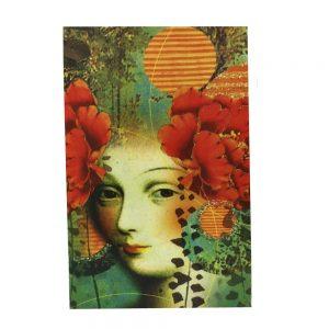 Cutie carte Victoria 25x6x18cm lemn vintage