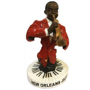 Statueta trompetist Louis 16cm