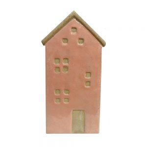 Ghiveci ceramica House roz 10x20cm vintage