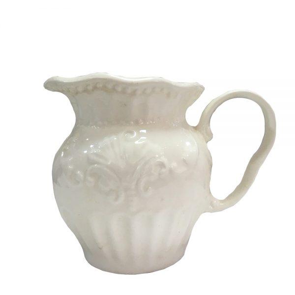 Latiera alba ceramica Monique 250ml