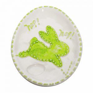Platou iepure Easter Bunny ceramica 25x18cm