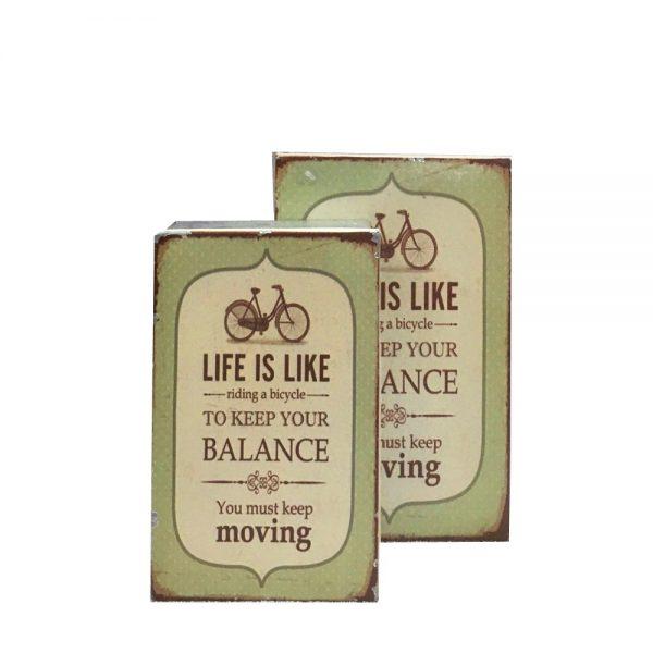 Set cutii tabla About Life vintage