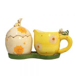 Set servire Easter Bunny ceramica