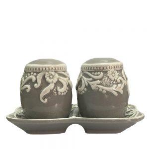 Solnita ceramica Easter Egg set sare piper