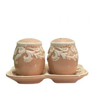 Solnita ceramica Easter Egg roz
