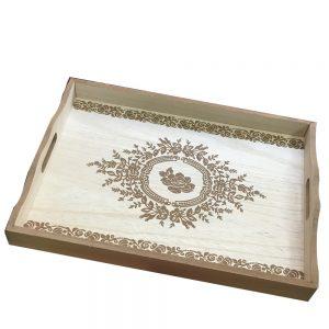 Tava lemn Berenice natur vintage 40x30x5cm