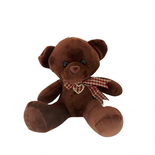 Ursulet de plus maro Chubby Bear 20cm