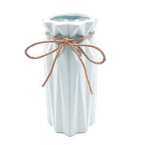 Vaza ceramica alba Leslie 24cm